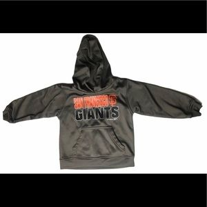 SAN FRANCISCO GIANTS Baseball Hoodie 4T Toddler